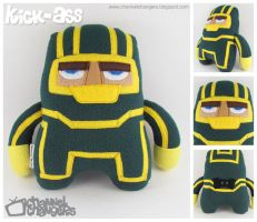 Kick-Ass Plush by ChannelChangers