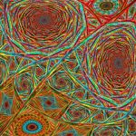 My psychedelic webs by IDeviant