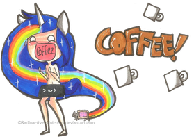 Coffee Nyan Nyan Design by Lil-Wang