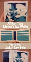 All Duct Tape Wallet Boys by thejenty