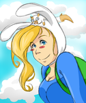 Fionna and Cake by DolceCapella