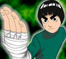 Taijutsu Master: Rock Lee by DarkGX