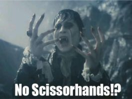 Edward Scissorhands, for the WIN by DanaToony