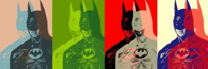 Batman Willy Brandt Style Pop Art by TheGreatDevin