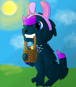 Happy Easter! by Ravenwolf845