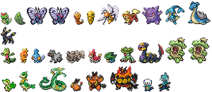 'Low Res' Pokemon by SpeedXaaa