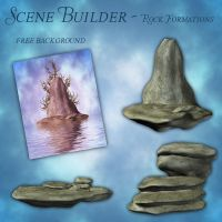 Scene Builder - Rock Formations by zememz
