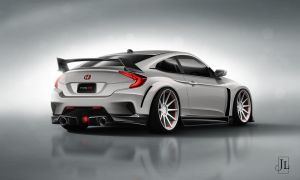 Honda CTR Concept Rear by Jay5204