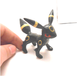 Miniature handmade pokemon umbreon by MiniSweetx