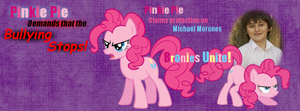 Pinkie Pie's Against Bullying (Facebook Cover) by LunariaCharme