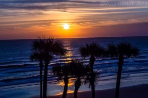 Sunrise 3 Daytona Beach Florida by Swaptrick