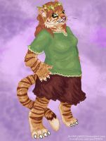 Ginger Stripes by Swampqueen