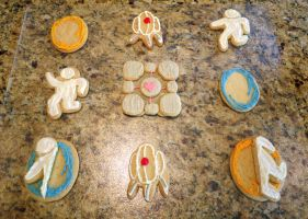 Portal Cookies! by techgeekgirl