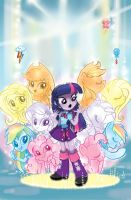 Equestria Girls Cover EDIT! by AppleCider1412