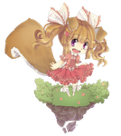 Special chibi comm: Tiddamouse 1 by Erickiwi-adopts