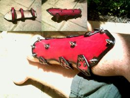 Leather Bracers by Dragon8or