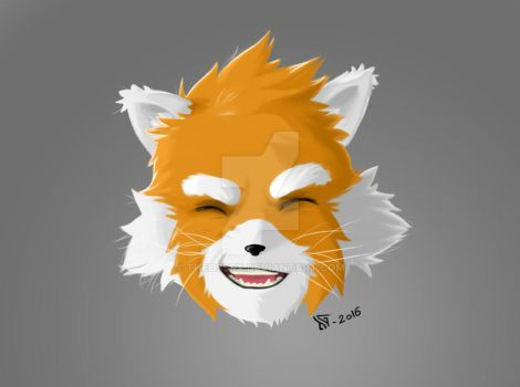 RedPanda color test by TheossFX