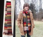 Me and my 4th Doctor Scarf by DianetheKraus