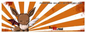 EEVEE FOR MY T-SHIRT by PEQUEDARK-VELVET