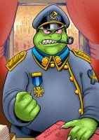 The Generalissimo  For Gruntchovski by curtsibling