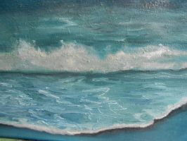*-**-SOLD-**-*on Ebay *THE CALMING BLUE* by b-ellie