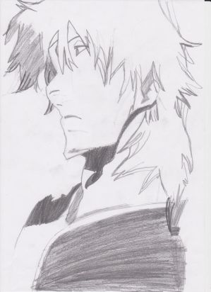 My First Bleach Drawing by Phinnyphineas