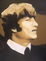 John Lennon by EpikStrawberry