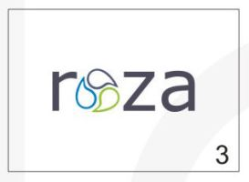 Roza Security Logo 3 by HalitYesil