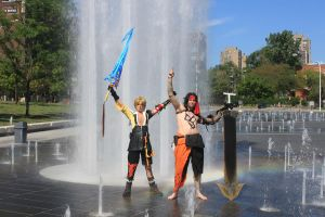 Jetch and Tidus by NeferCosplay