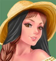 Campesina Pin up by Didi-Esmeralda