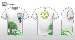 DevianArt Ecology T-shirt by Ixious