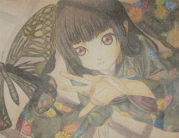 Hell Girl: Sakasama no Chou by hatsurina