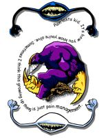The Maxx Tattoo Design by darklightartist