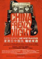 China Frenzy Hip Hop by vectorscum