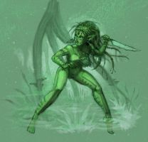 Swamp Elf Deluxe by williamsquid