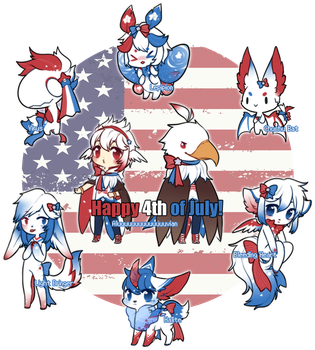 July Adopt Freebies - closed by Mousu