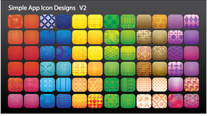 Simple App Icon Designs by Itching2Design