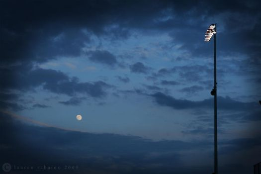sky + moon + light by qwe645rty282