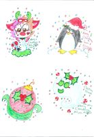 2014 Christmas 7 8 9 10 by Kittychan2005