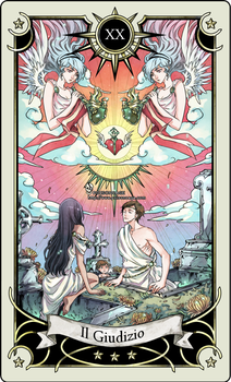 Tarot card 20- the Judgment by rann-poisoncage