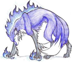 i pwn you with purple fire. :B by padfoot2012