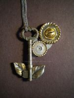 Steampunk Key by Cauthorn