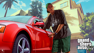 Grand Theft Auto V Tyler the Creator Wallpaper by MorbidTurtle