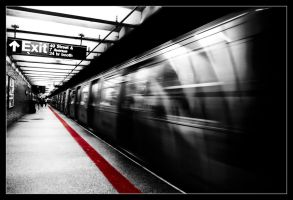 The red ligne by Bestarns