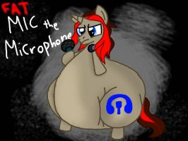 Fat Mic the Microphone by KyleStudios