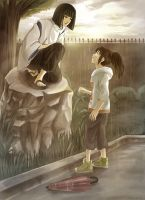 Spirited Away: Promise by arriku