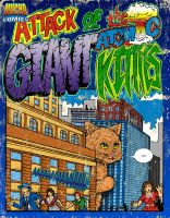 Attack of the Atomic Kitties Poster by godzillasmash