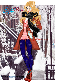 Sophie winter style by Capricorni by SofiaBloom
