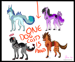 Dog Adobtables by littlelollypop