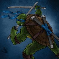 TMNT: Leonardo by DoneCreative
